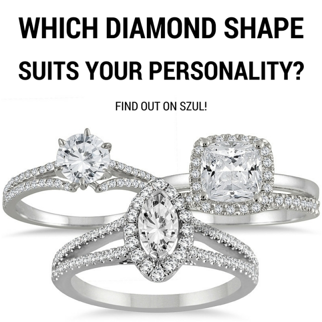 Which diamond shape suits your personality the best-