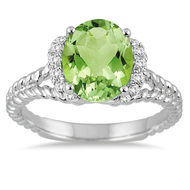 PERIDOT_DIAMOND_ENGAGEMENT_RING